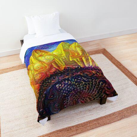 Solar eyelashes Comforter