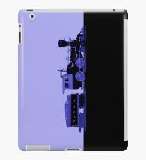 train blue iPad Case/Skin