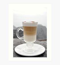 Layered Latte Art Print