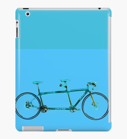 Tandem Bicycle iPad Case/Skin