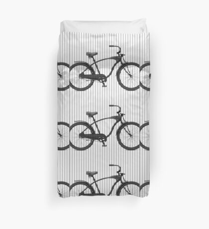Bike Lines Duvet Cover