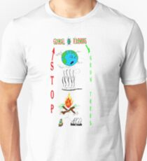 Save Earth Prevent Global Warming T-Shirt