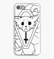 Kitty Casket iPhone Case/Skin