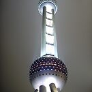 Oriental Pearl Tower by Cageling