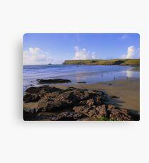 Lienzo Cornwall: Polzeath Beach