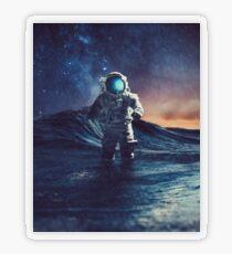 Stranded II Transparent Sticker