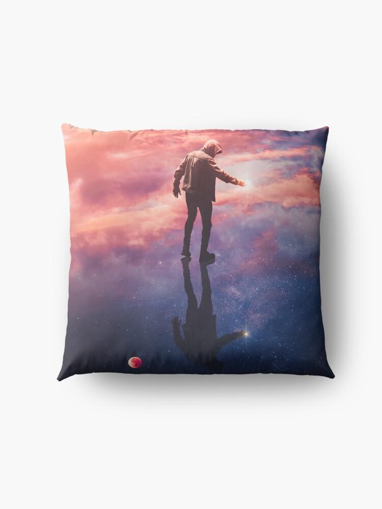 Alternate view of Star Catcher Floor Pillow