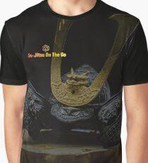 Samurai Helmet Graphic T-Shirt