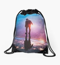 A World Away Drawstring Bag