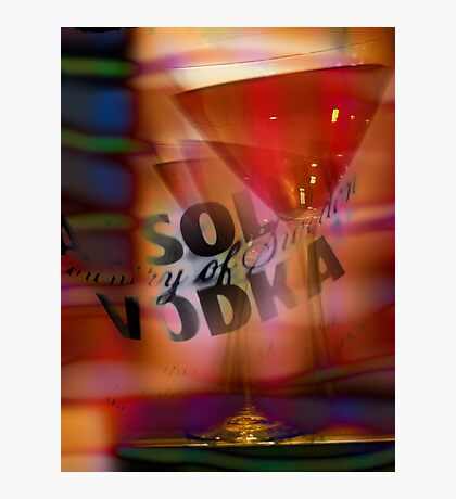 absolut vodka cosmopolitan Photographic Print