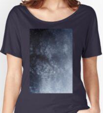 Blue veiled moon Women's Relaxed Fit T-Shirt