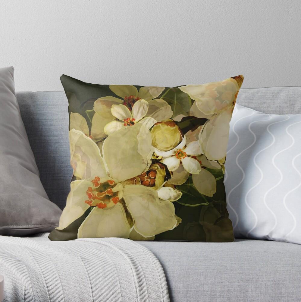 Alhambra Blossom III Throw Pillow