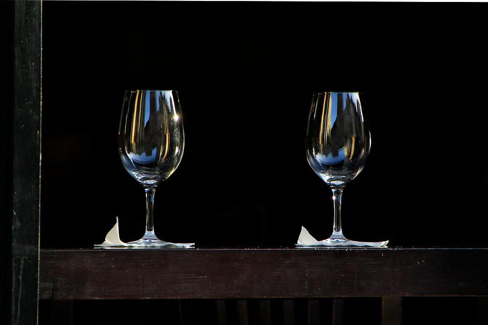Tel Aviv in a wine glass by MichaelBr