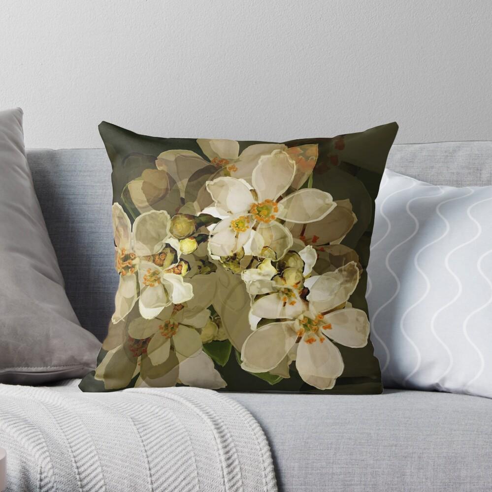 Alhambra Blossom Throw Pillow