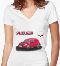 Skullduggery Women's Fitted V-Neck T-Shirt
