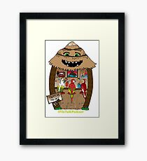 Thatch's Tiki Bar Framed Print