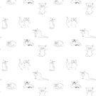 Katzenvariationen von cartoonsbyroth