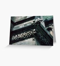Frog Gargoyle on roof Nidaros Cathedral Trondheim Norway 19840622 0030 Greeting Card