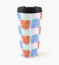 Mountain Faces Travel Mug