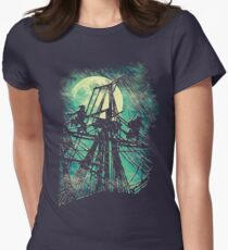 Stormy Showdown Women's Fitted T-Shirt