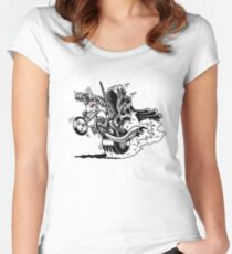Wraiths on Wheels! Women's Fitted Scoop T-Shirt
