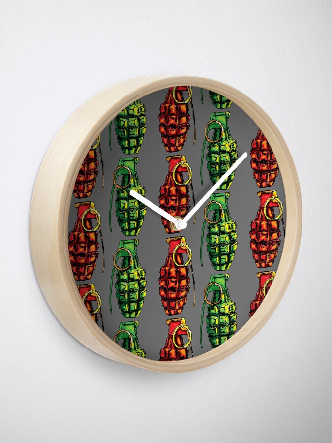 Alternate view of Grenade Clock