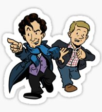 Sherlock - The Game is On Sticker