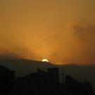 Cloudy Sunset by Bob Merhebi