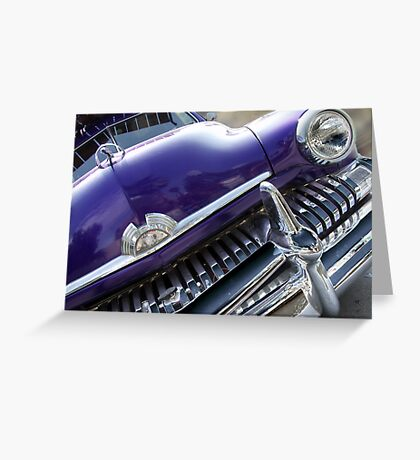 purple mercury Greeting Card