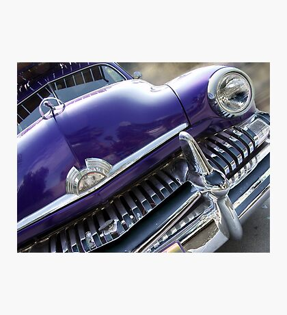 purple mercury Photographic Print