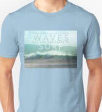 Surf Waves of Hawaii Unisex T-Shirt