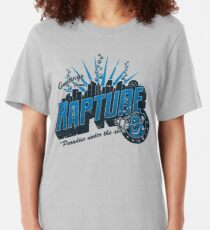 Greetings from Rapture! Slim Fit T-Shirt