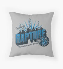 Greetings from Rapture! Throw Pillow