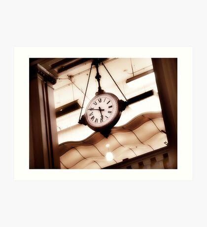 big clock Art Print
