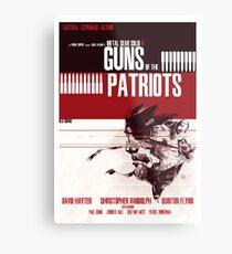 Patriots - Metal Gear Metal Print