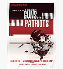 Patriots - Metal Gear Poster