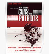Patrioten - Metal Gear Poster