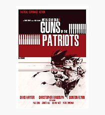 Patriots - Metal Gear Photographic Print