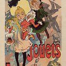 «Vintage belle epoque tienda de juguetes París vertical banner» de aapshop