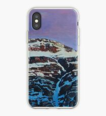 Everest - North face with moon iPhone Case