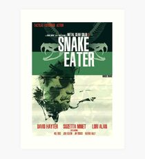 Snake Eater - Metal Gear Art Print