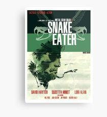 Snake Eater - Metal Gear Metal Print