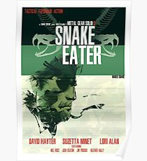 Schlangenesser - Metal Gear Poster