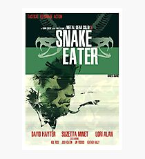 Snake Eater - Metal Gear Photographic Print