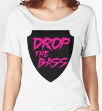 Drop The Bass Shield  Women's Relaxed Fit T-Shirt