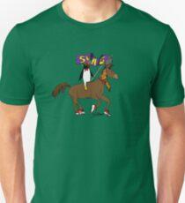 Penguin Horse Swag Flag T-Shirt