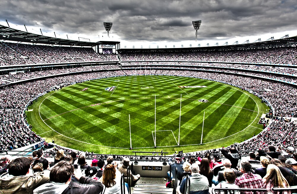 AFL Grand Final 2010 by James Troi