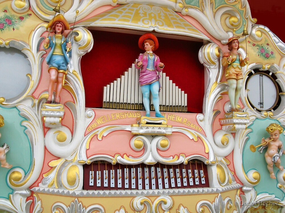 Concert Organ from 1927 by Detlef Becher