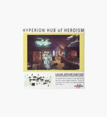 Hyperion Hub of Heroism Art Board