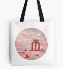 Antikes Griechenland Tempel der Athene - Schütze Tote Bag
